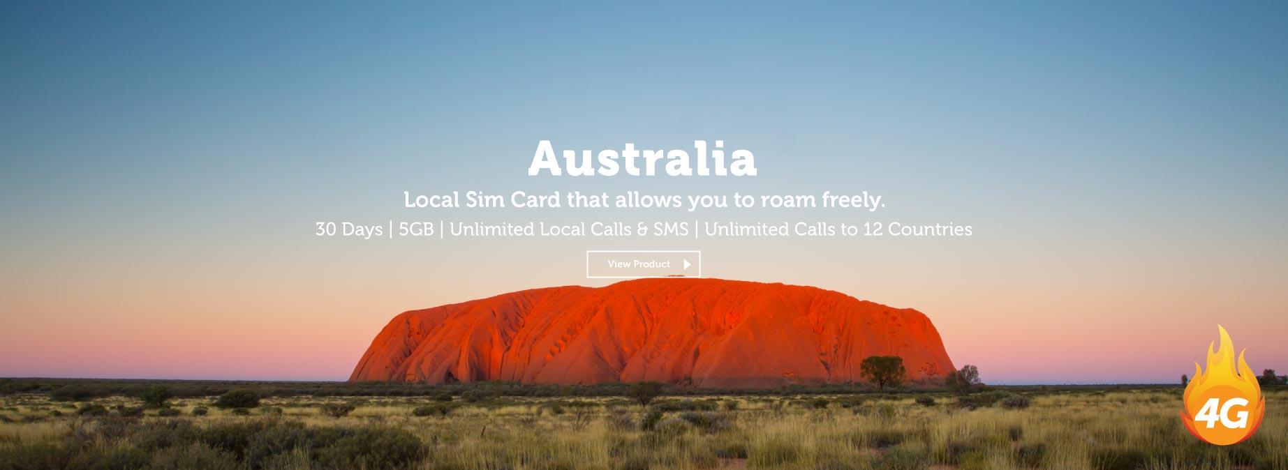 View Australia Sim