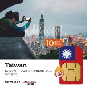 Taiwan THREE Travel Prepaid SIM Card