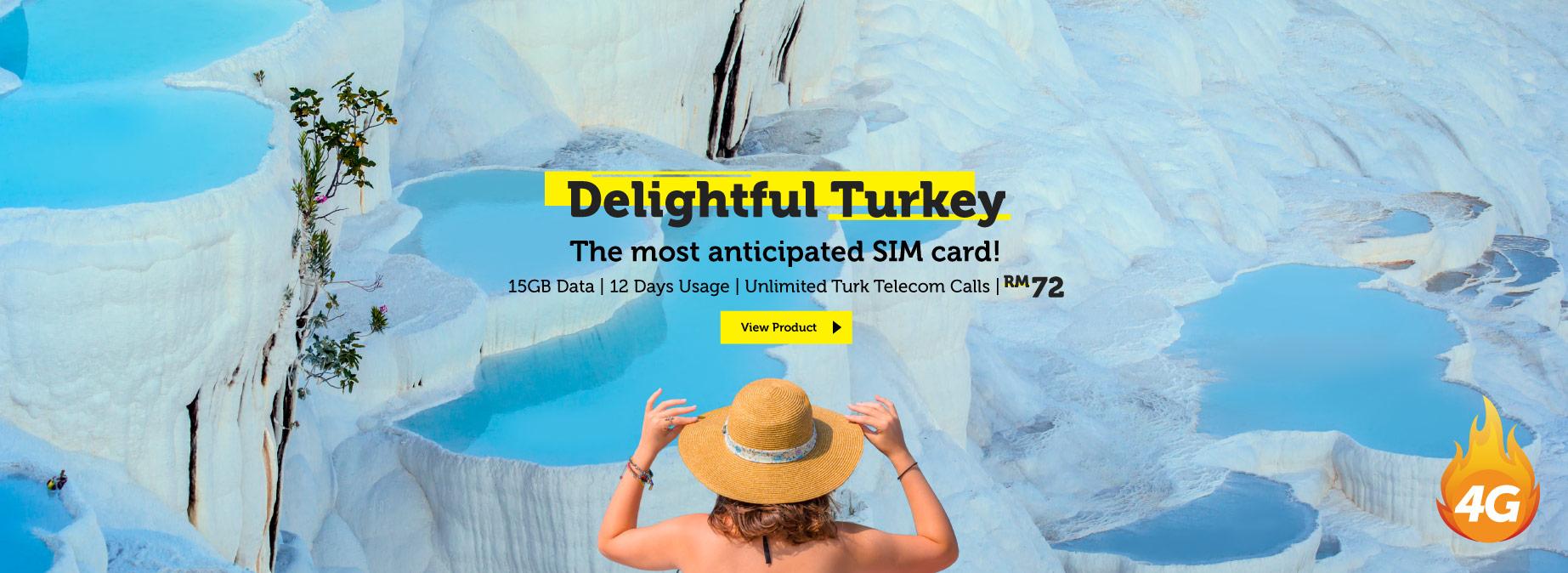 Turkey Travel Prepaid SIM Card